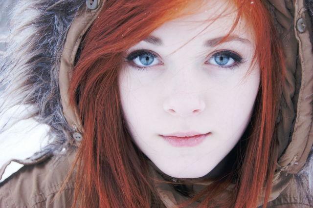 Красивых девушек портреты