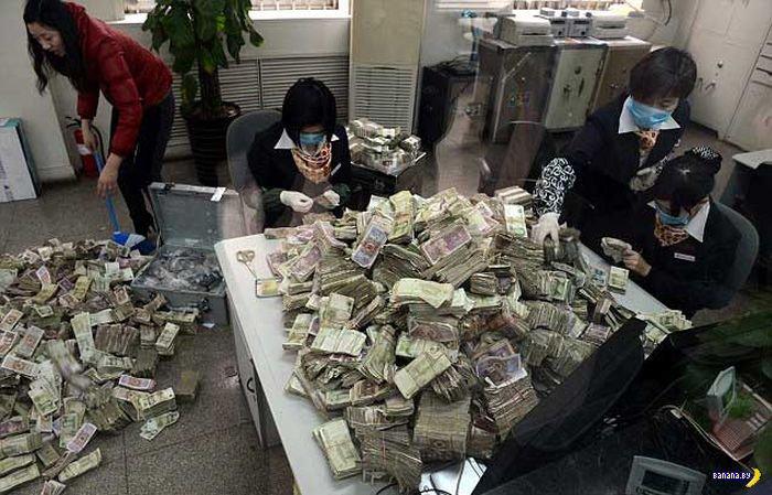 Китайский денежный тролль