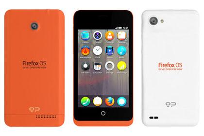 Представлены первые смартфоны на Firefox OS