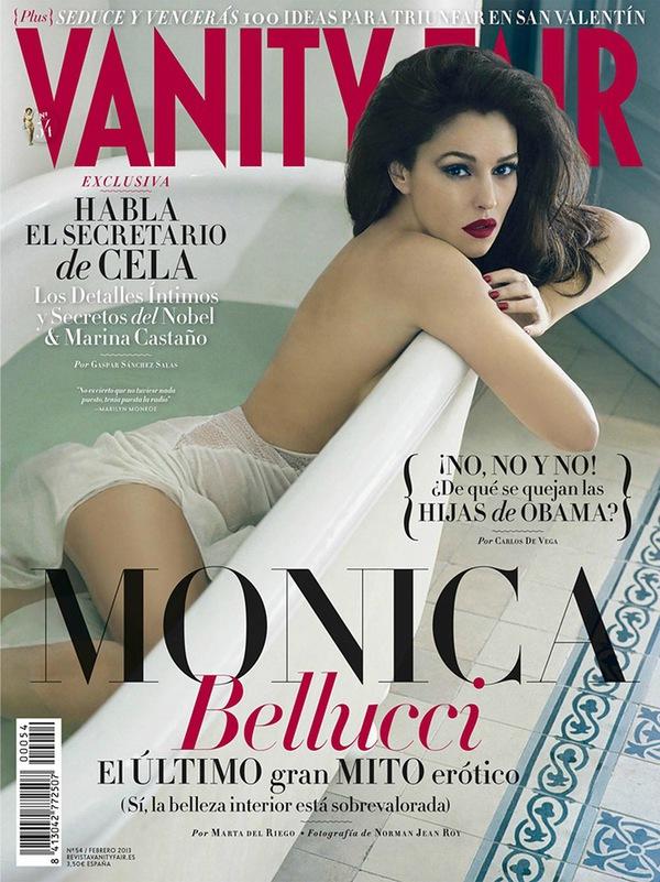 Моника Беллуччи в февральском номере Vanity Fair