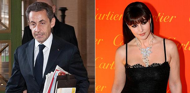 Саркози и Беллучи бегут из Франции