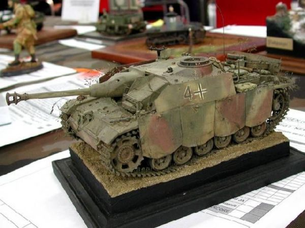 Стендовые модели бронетехники - 2