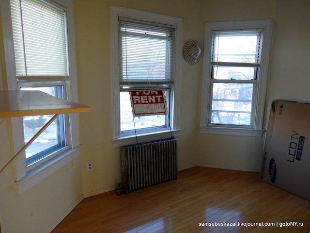 Бюджетная квартира в Нью-Йорке