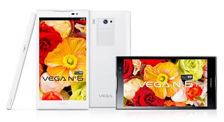 Pantech Vega No.6: самый большой Full HD-смартфон