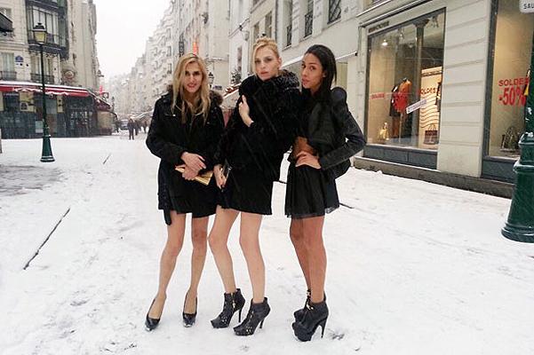 Фотохроники Андрея Пежича с парижской Недели высокой моды