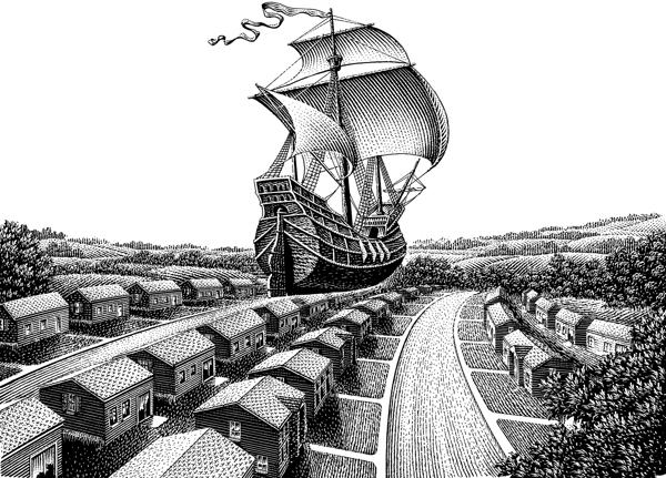 Иллюстратор Michael Halbert
