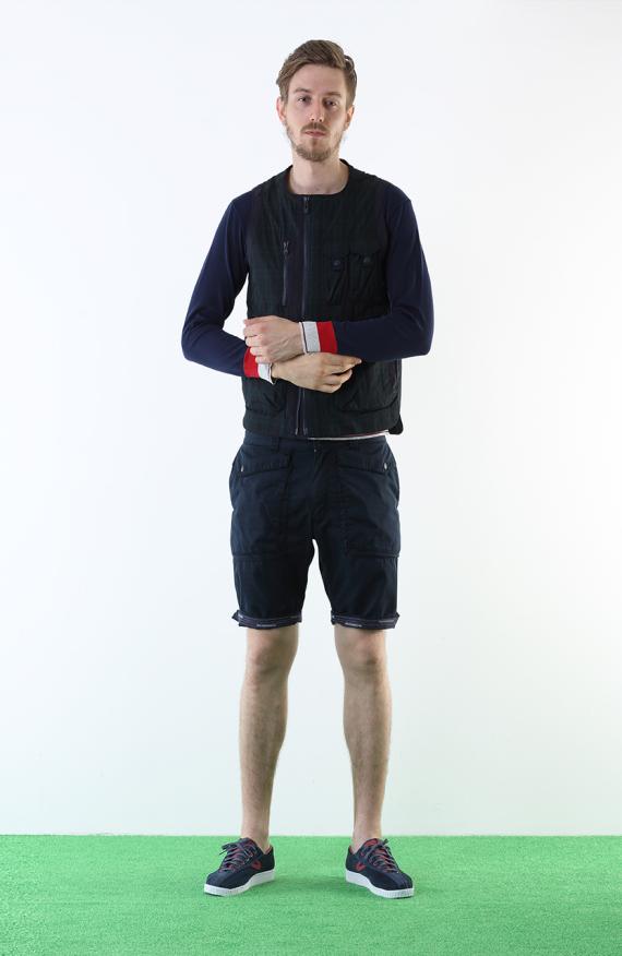 Лукбук новой весенне-летней коллекции одежды марки White Mountaineering