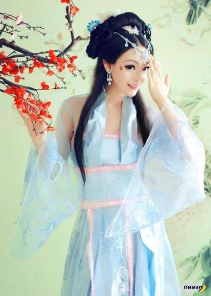 Китайская живая кукла