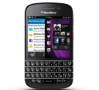 BlackBerry Q10: смартфон с QWERTY-клавиатурой