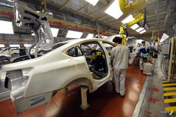 Китай собирается построить больше автомобилей чем Европа