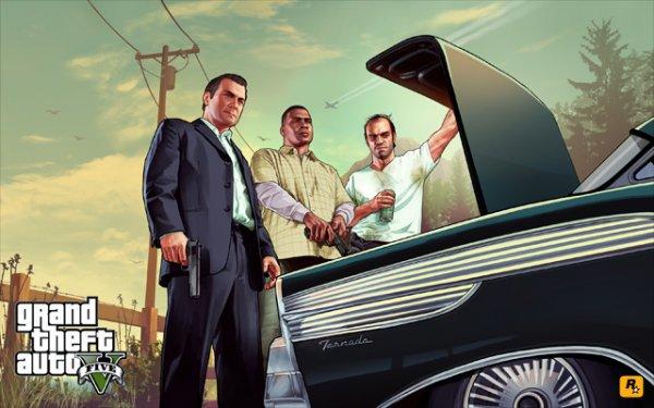 GTA V- новые скрины