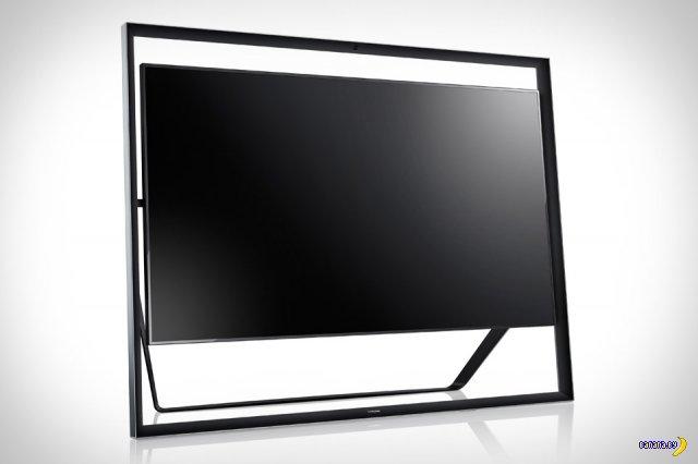 Гигантский ТВ Samsung S9 UHD 4K