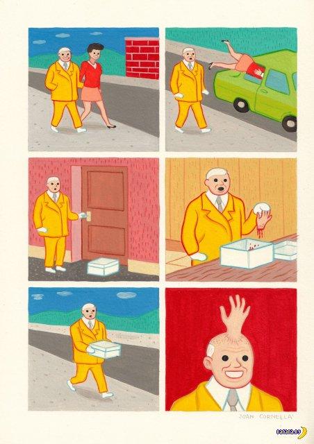 Комиксы Joan Cornella