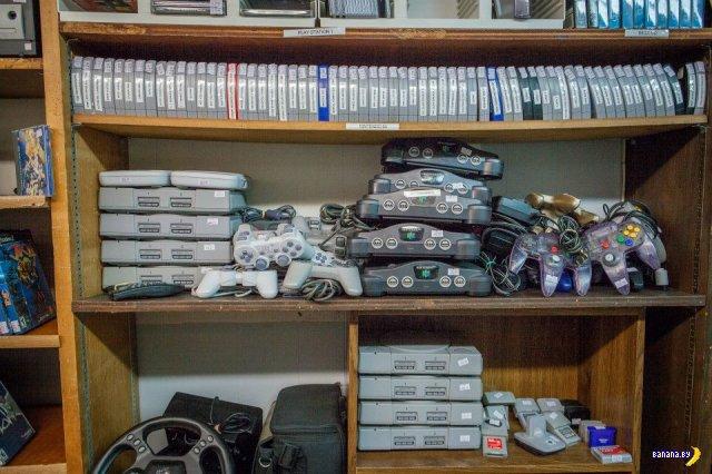 Олдскульный магазинчик для геймеров