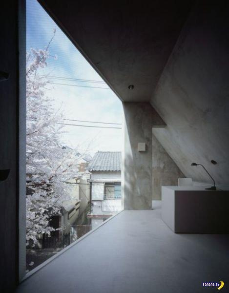 Очень узкие дома