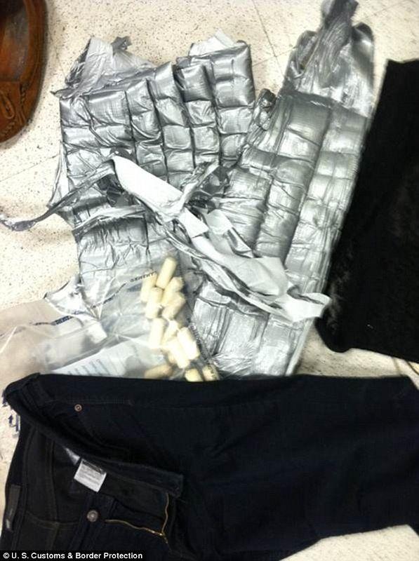 6,5 кг кокаина в подгузниках