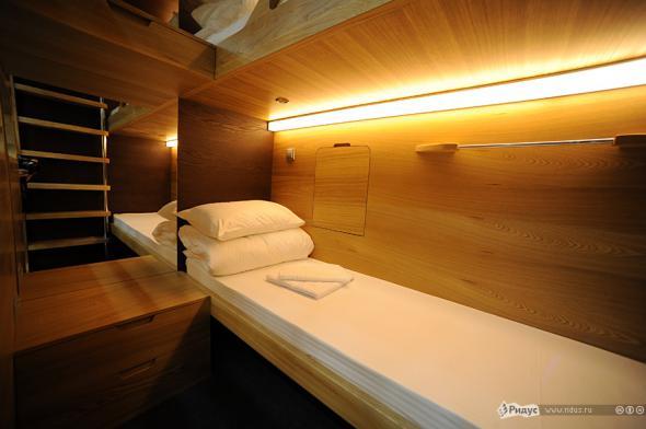 В Москве открылся первый капсульный отель