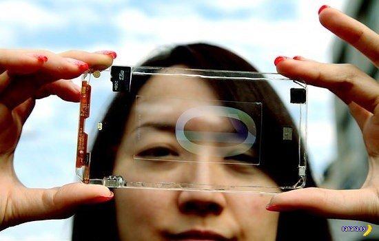 Полностью прозрачный смартфон