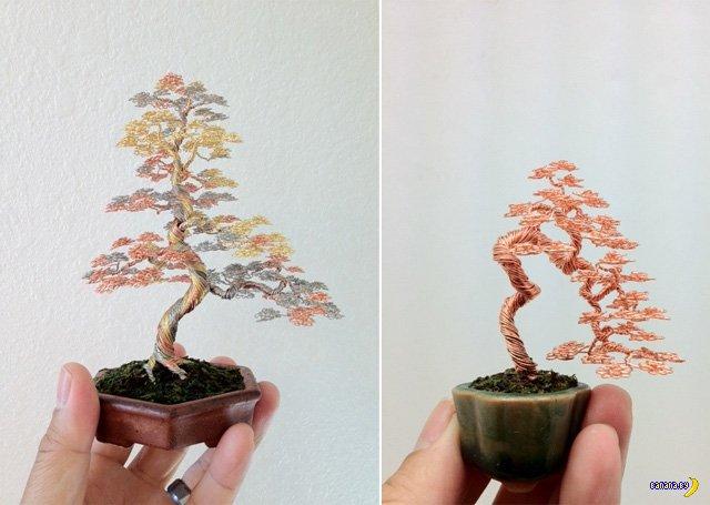 Бонсай дерево своими руками - Делаем фенечки своими руками