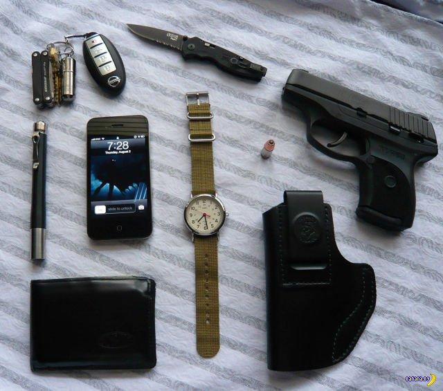 Что в карманах у американцев?