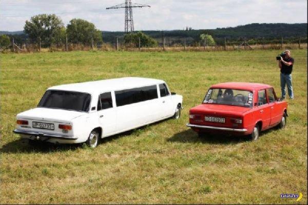 Лимузин в советском стиле