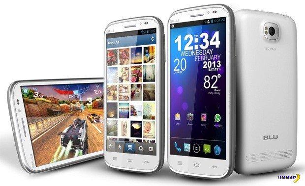 Новые смартфоны от неведомой BLU Products