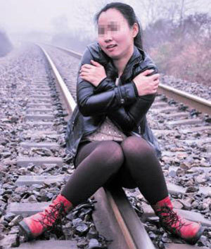 Студентка едва не погибла на экстрим-фотосессии