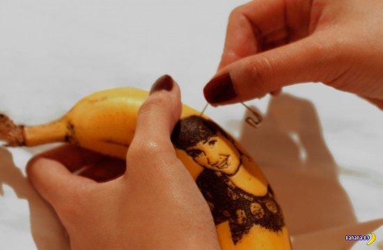 Татуированные бананы Honey
