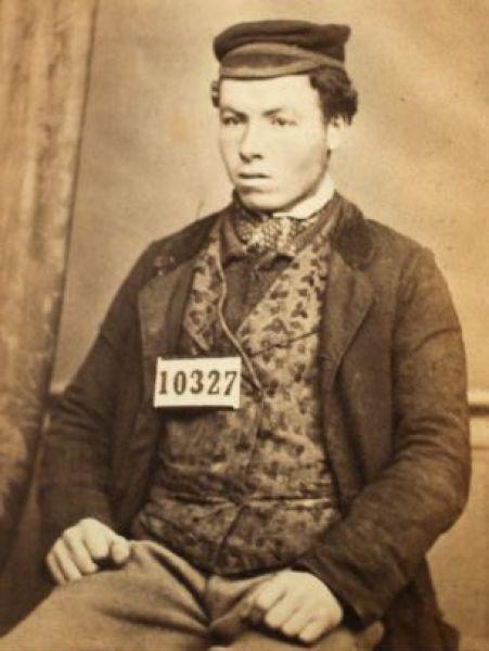 Преступники 150 лет назад