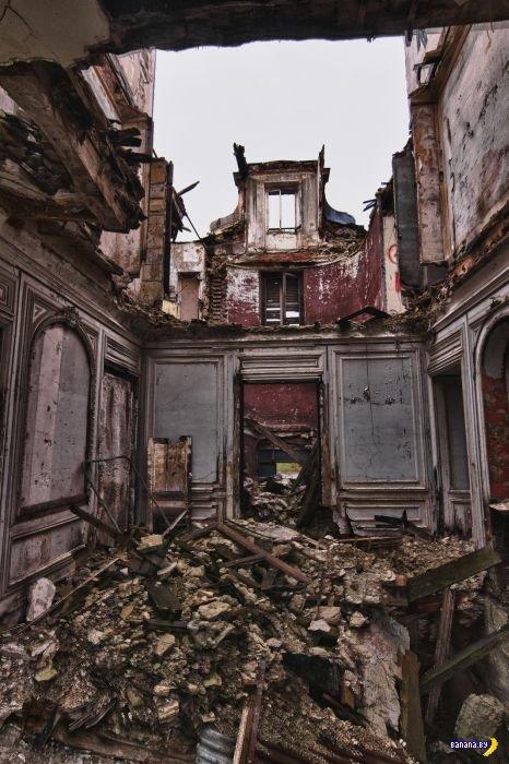 Заброшенный городок Goussainville во Франции