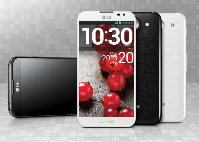 LG представила планшетофон Optimus G Pro