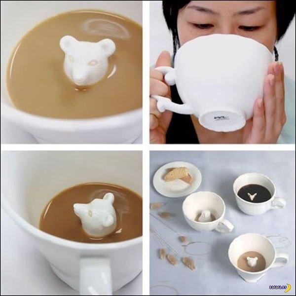 Коллекция необычных чашек