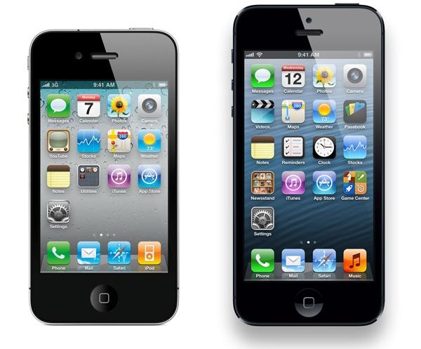 iPhone 5 и iPhone 4S — самые популярные смартфоны в мире