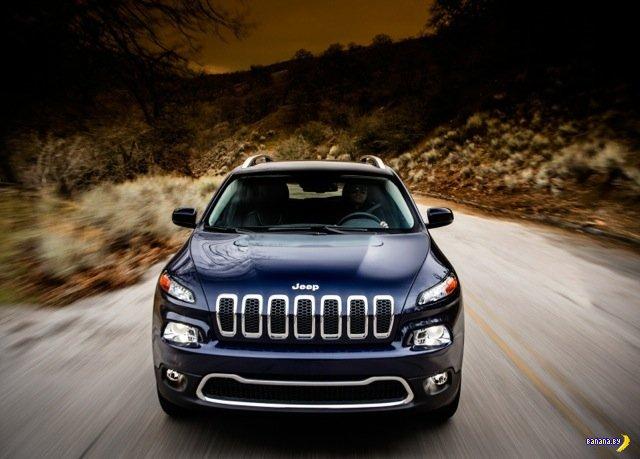Спорный дизайн 2014 Jeep Cherokee