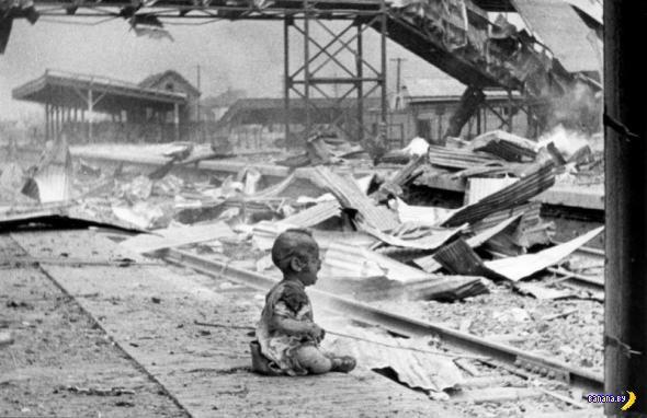 Дети играли в войну