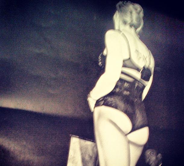 Мадонна показала отвисший зад