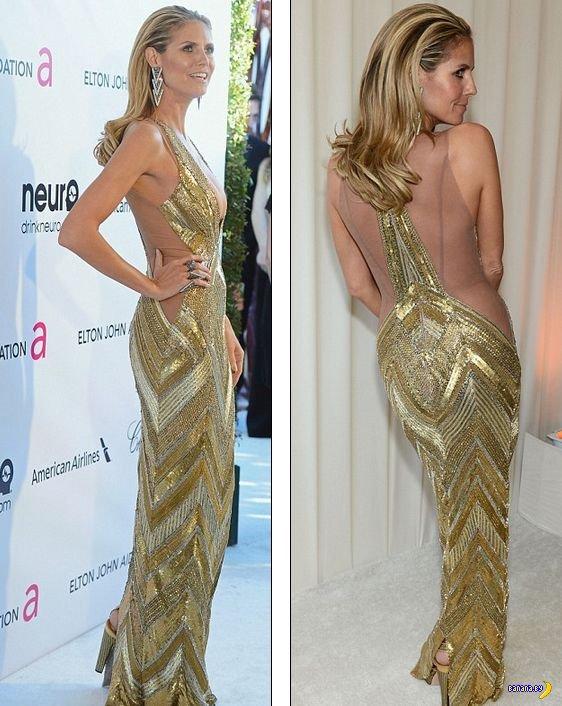 Хайди Клум на Oscar 2013
