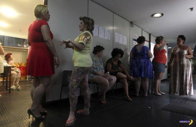 Модный показ в Бразилии
