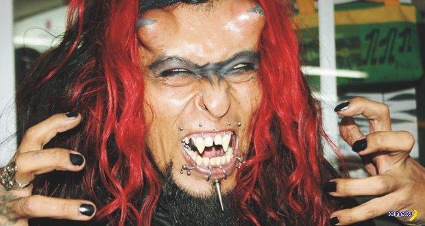 El diablo Colombiano - настоящий демон