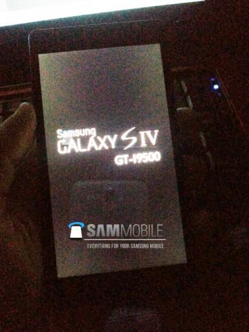 Первые фотографии Galaxy S4 появились в сети