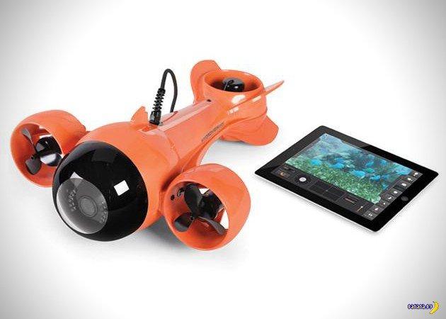 Подводная лодочка для iPad