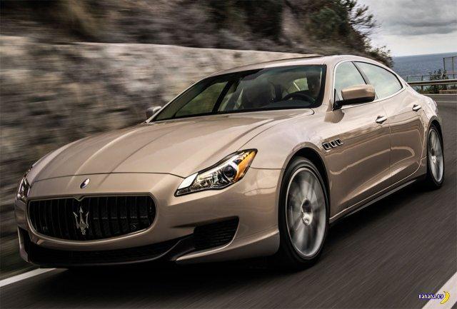 Новый Maserati Quattroporte