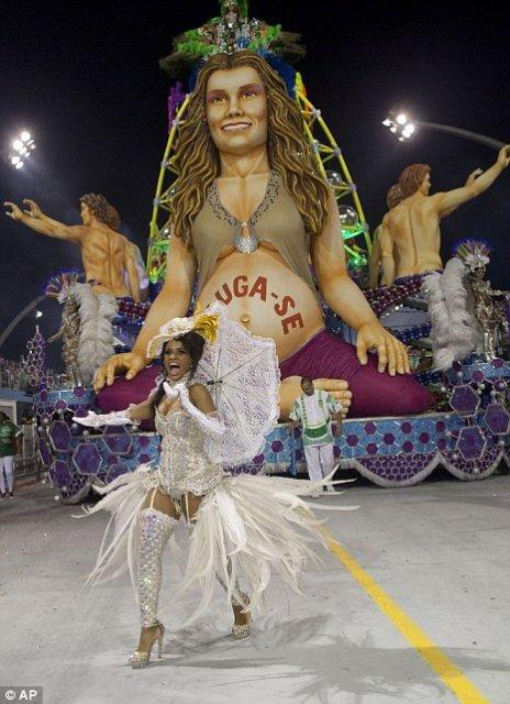 В Рио в самом разгаре очередной карнавал