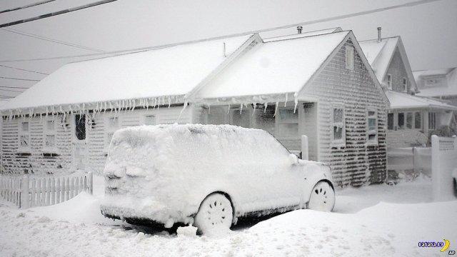"""Снежный шторм """"Немо"""" в США"""