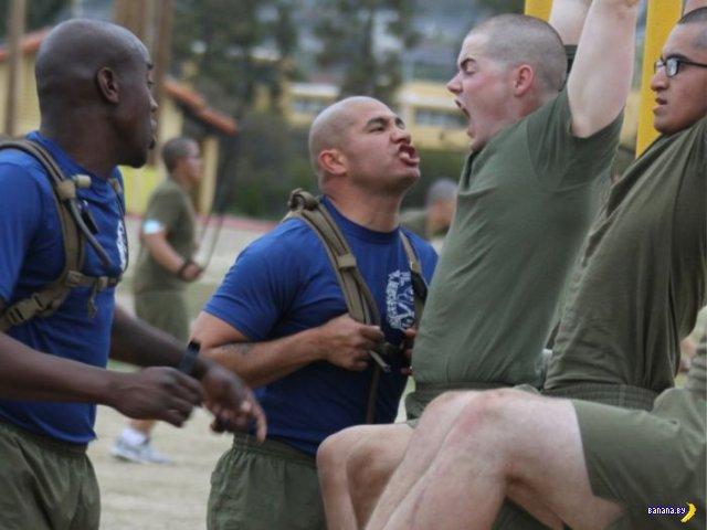 Сержанты-морпехи армии США