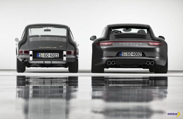 50 лет Porsche 911
