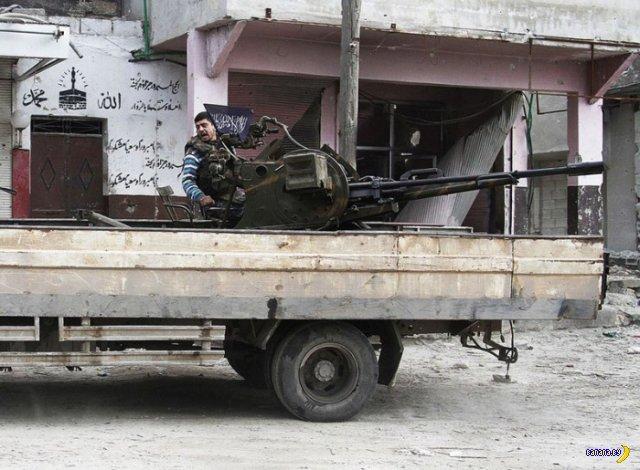 Оружие ливийских повстанцев