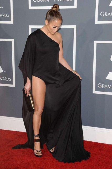 Нога и ее Джей Ло на Grammy Awards 2013