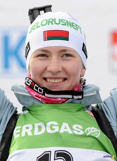 Дарья Домрачева выиграла масс-старт на чемпионате мира по биатлону