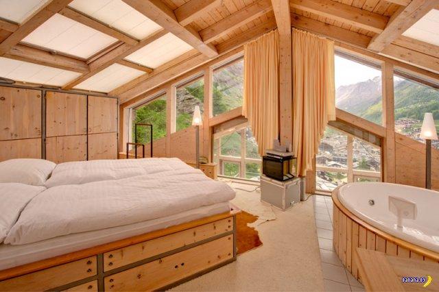 Пентхаус-Шале в Швейцарских Альпах